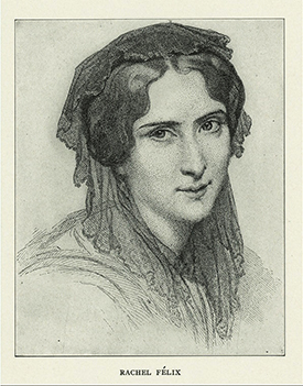 Portrait de Rachel (nypl. digitalcollections)