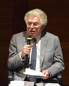 Pierre Joxe, avocat au Barreau de Paris, premier président honoraire de la Cour des comptes