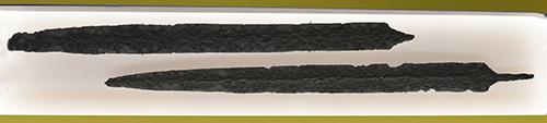 Longues épées des Nautes mercenaires aux services des Grecs
