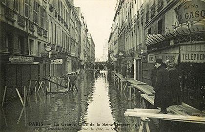 Rue du Bac en 1910