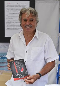 Alain Caillol présentait son premier roman: Mes Noces d'Etain.