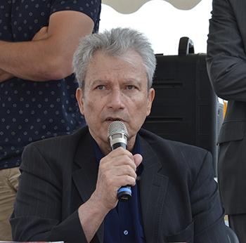Table ronde sur la géopolitique et le tourisme animée par Jean-Michel Hoerner ancien président de l'Université de Perpignan Via Domitia.