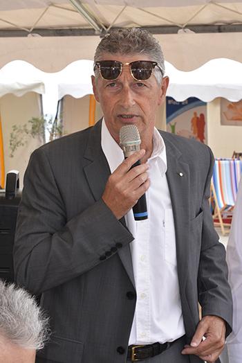 Bernard Dupont, maire de Canet-en-Roussillon