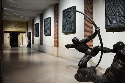 La sculpture, un dessin dans tous les sens pour Bourdelle.