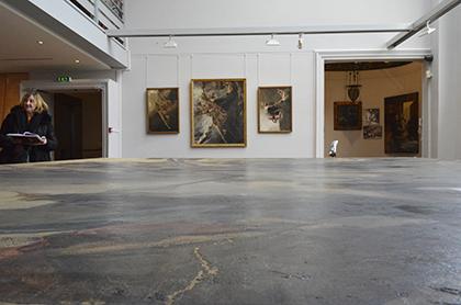 Fondation Taylor. Une toile immense d'Albert Maignan et les peintures préparatoires mises au murs