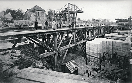 Construction du Sacré-Coeur