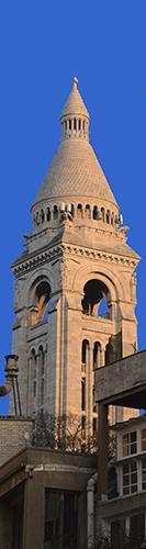 Le campanile abrite la Savoyarde.