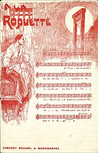 Chanson d'Aristide Bruant : la Roquette