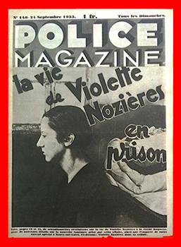 Numéro de Police magazine 24 septembre 1933 consacré à Violette Nozières.