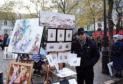 Georges Caramadre artiste peintre.