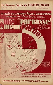 1929, le peintre Foujita et ses amis animent les nuits de Montparnasse.