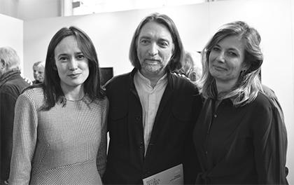 le Lauréat a préparé avec Hermine Videau-Sorbier de l'Académie et Elise Longuet de Fimalac l'exposition et hé hors série de la revue des Deux mondes qui lui est consacré.