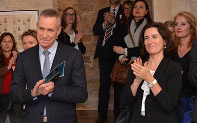 François Molins, Procureur de la République de Paris était présent pour la nouvelle exposition au Musée du Barreau.