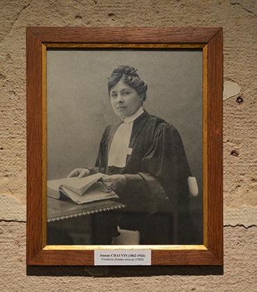 Jeanne Chauvin, première avocat au barreau de Paris