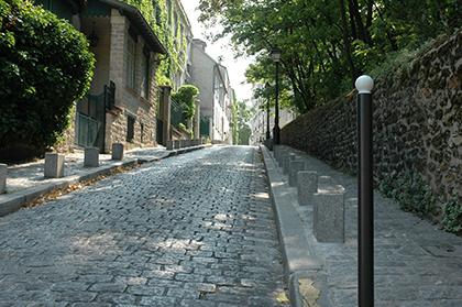 Rue Cortot aujourd'hui
