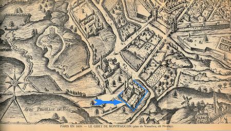 Saint-Lazare en 1609