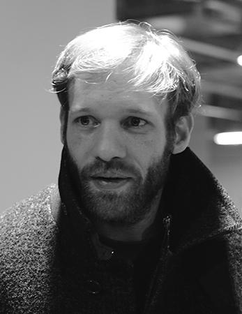Paul Hamy, lors de la présentation au Centre Pompidou de L'Ornithologue.