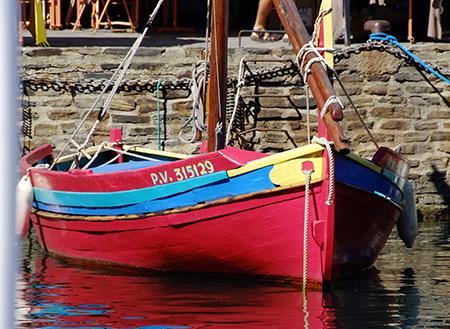 Une barque catalane