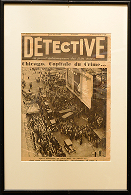 """1er novembre 1928, n°1 à la Une : """"Chicago, Capitale du Crime"""""""
