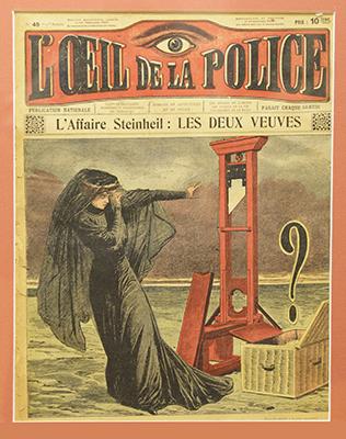 L'œil de la Police, créé en 1908.