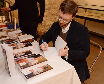 Philippe Tessier en signature