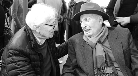John G. Morris et Jean Marquis amis de longue date.