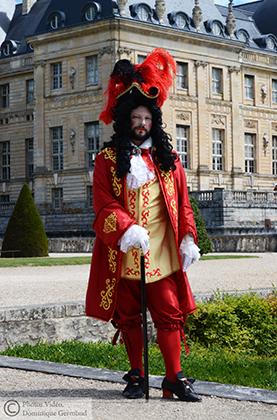 Versailles Vaux le vicomte, Deguisement de Marquis Grand Siecle